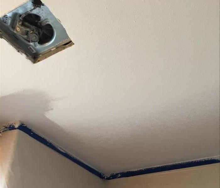 Senior Living Facility Ceiling Repair Before