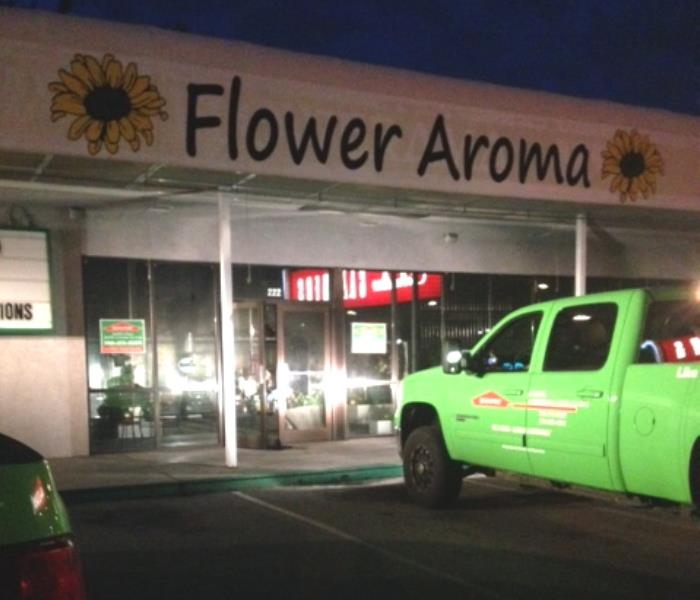 Flower Aroma Sustains Fire Damage