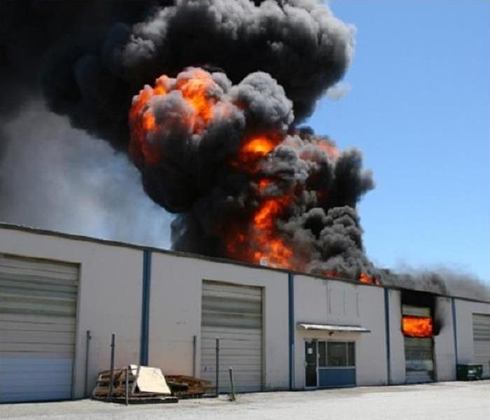 Fire Damage SERVPRO: Your First Choice for Commercial Fire Damage Restoration in an Idaho Business